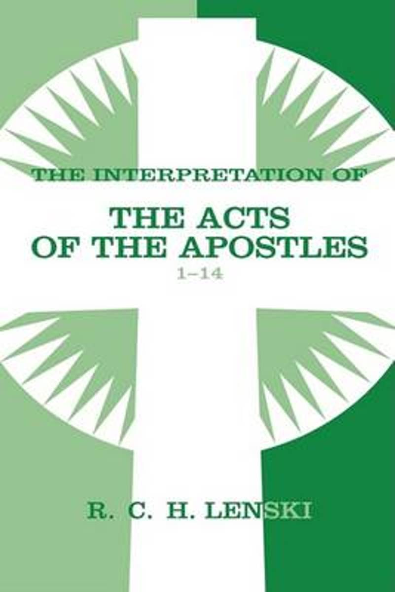 Interpretation of the Acts of the Apostles