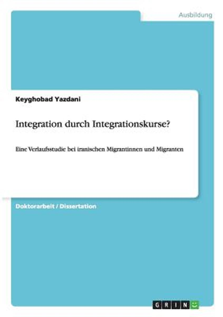 Integration Durch Integrationskurse?