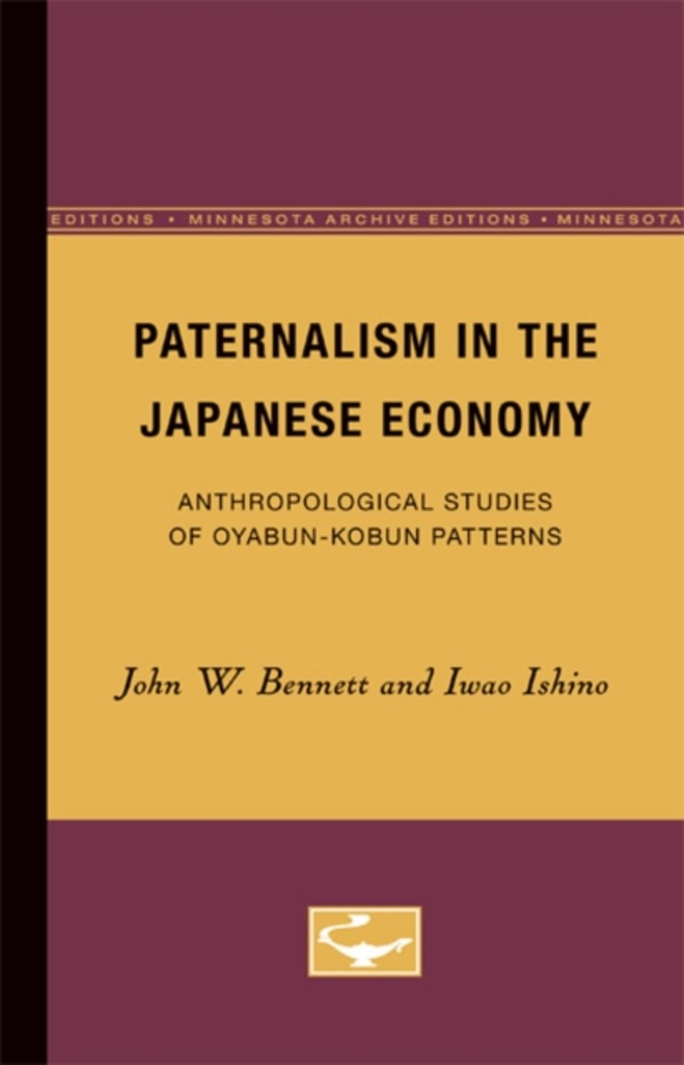Paternalism in the Japanese Economy