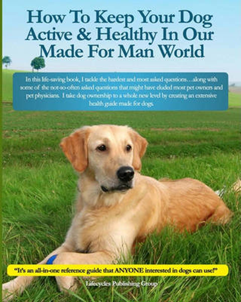 How to Keep Your Dog Active & Healthy in Our Made for Man World
