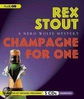 Champagne For One: A Nero Wolfe Mystery