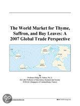 The World Market for Thyme, Saffron, and Bay Leaves