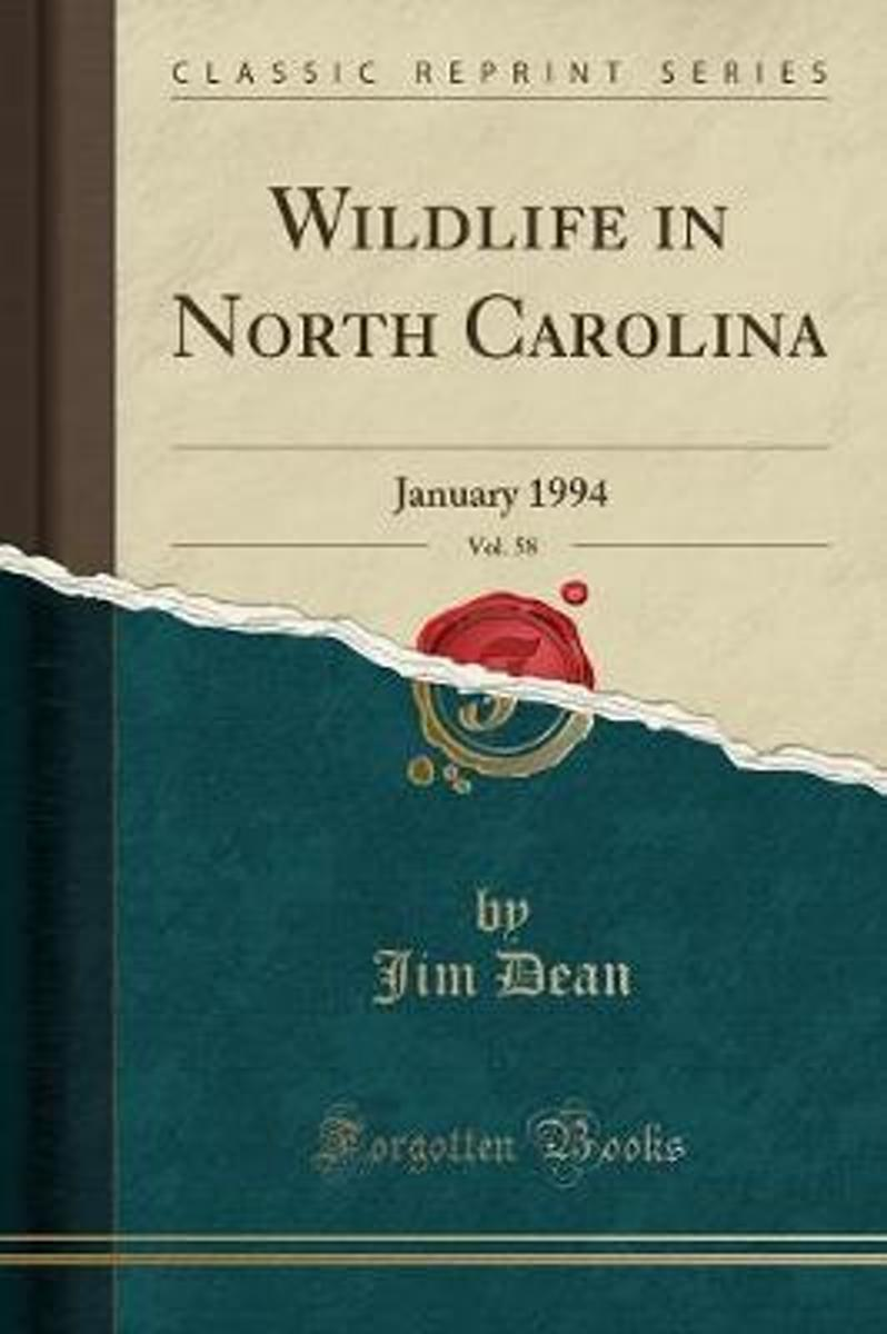 Wildlife in North Carolina, Vol. 58