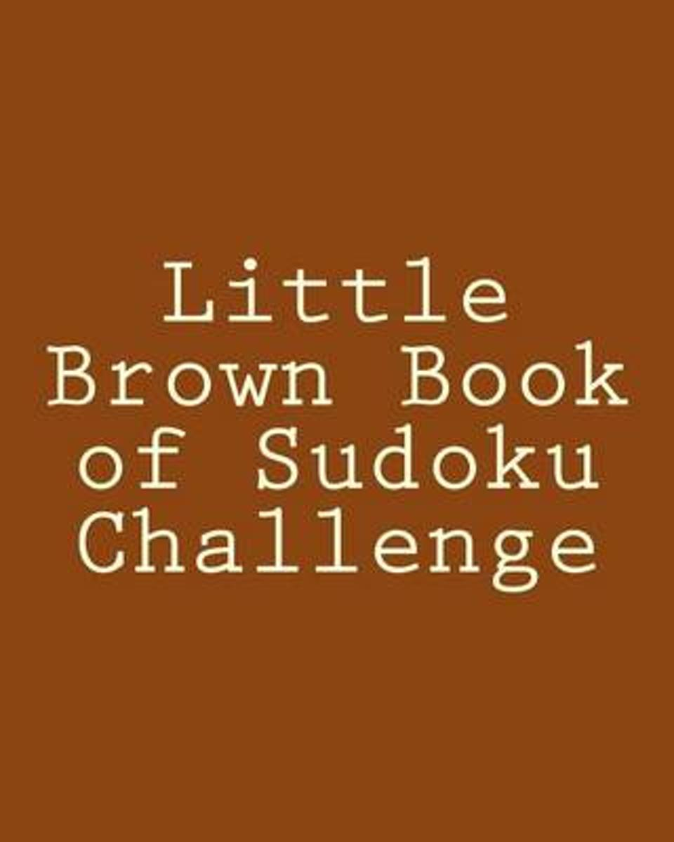 Little Brown Book of Sudoku Challenge
