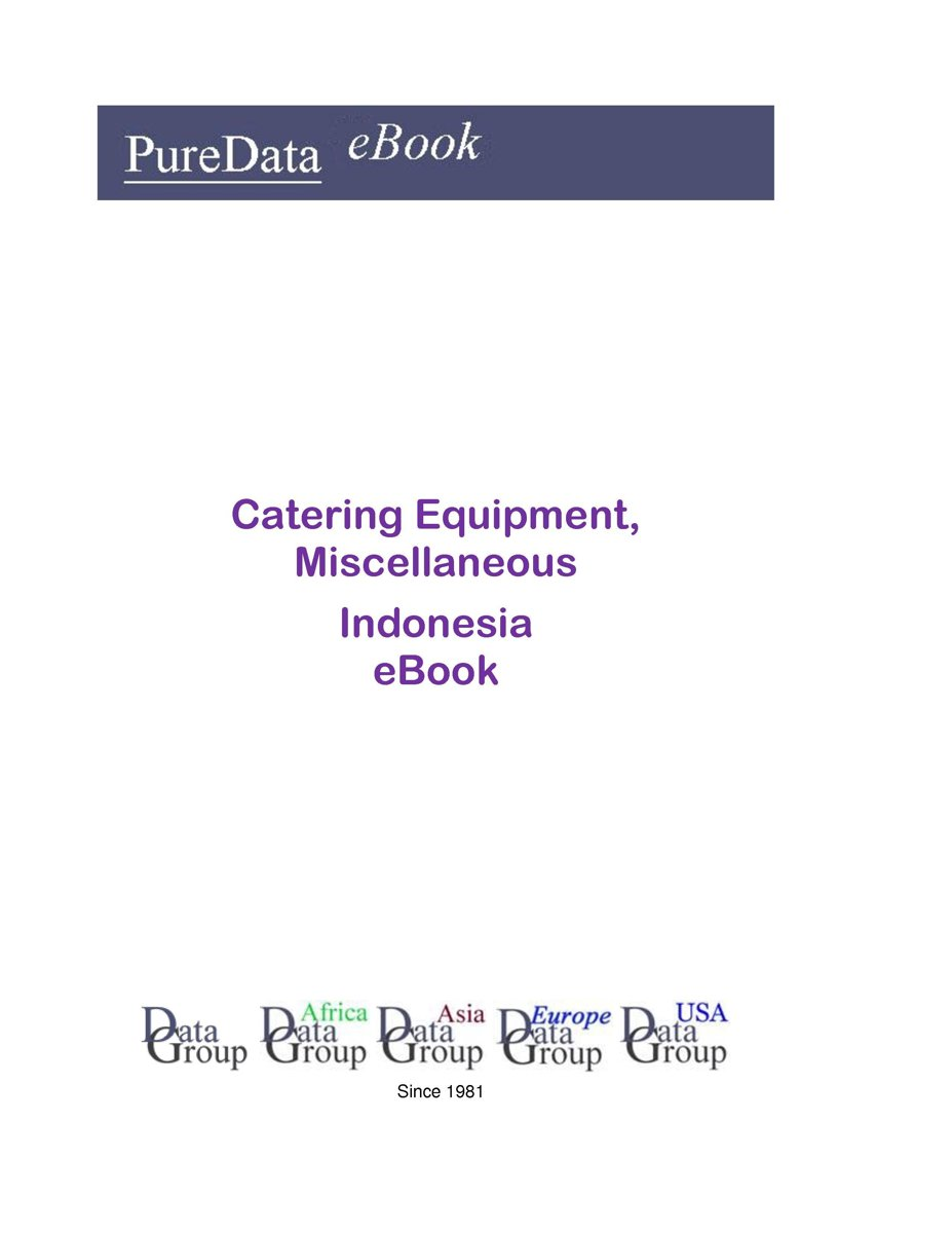 Catering Equipment, Miscellaneous in Indonesia