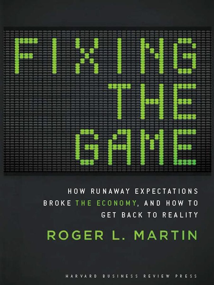 Fixing the Game