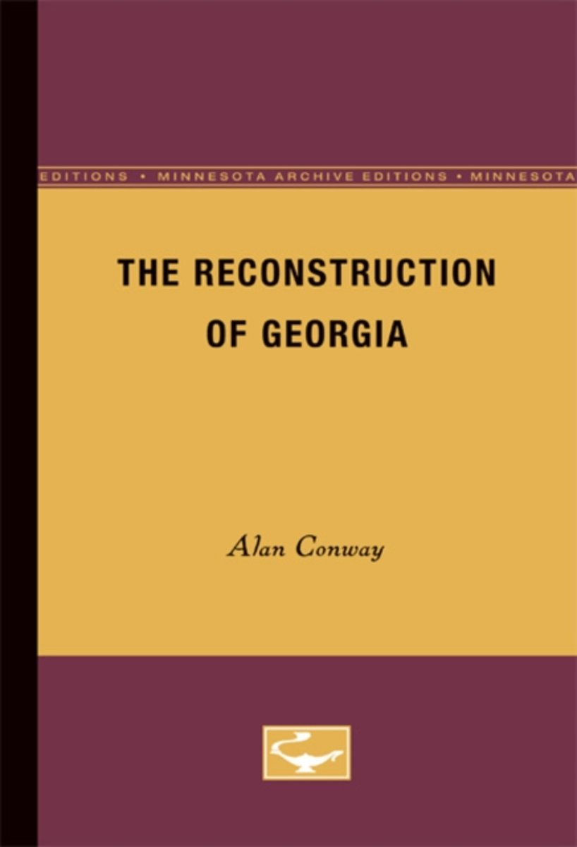 The Reconstruction of Georgia