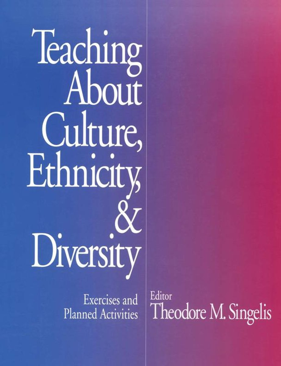 Teaching About Culture, Ethnicity, and Diversity