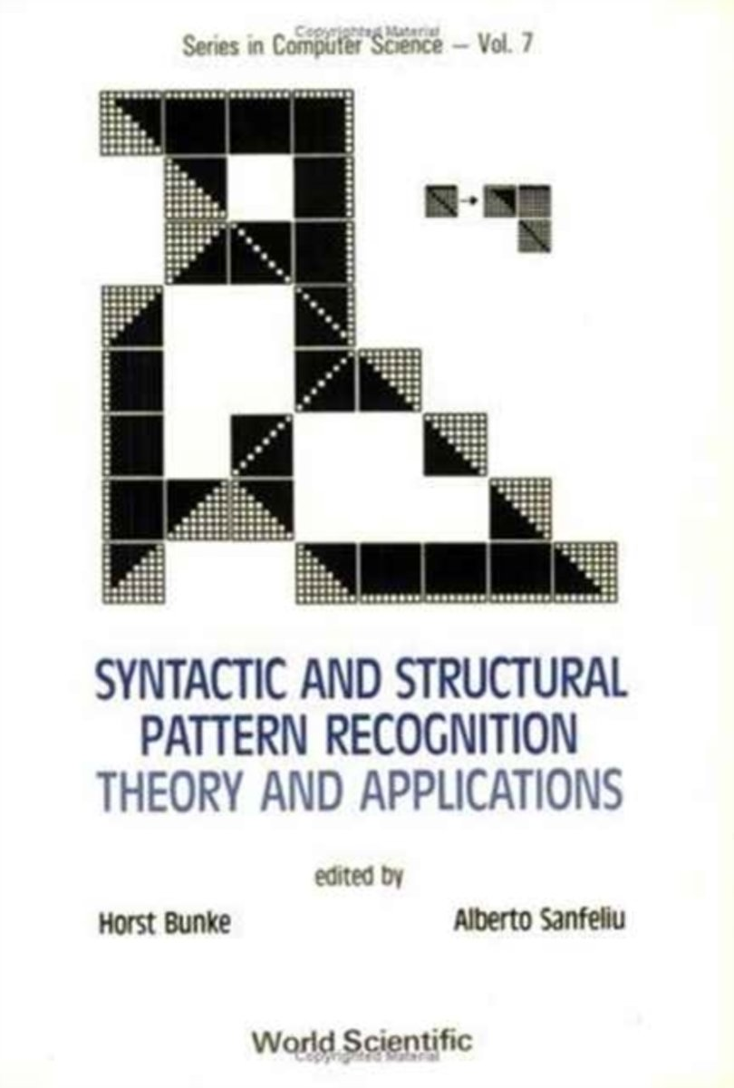 Syntactic And Structural Pattern Recognition - Theory And Applications