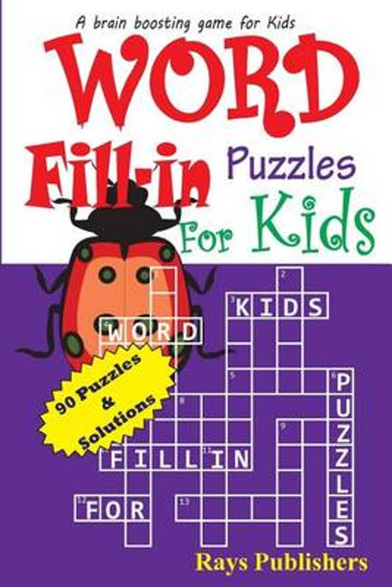 Word Fill-In Puzzles for Kids