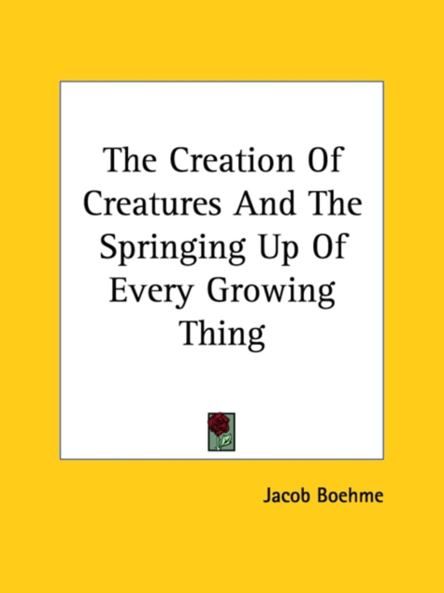 The Creation of Creatures and the Springing Up of Every Growing Thing