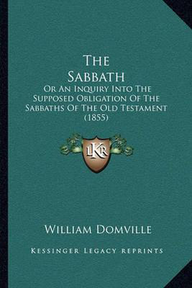 The Sabbath the Sabbath