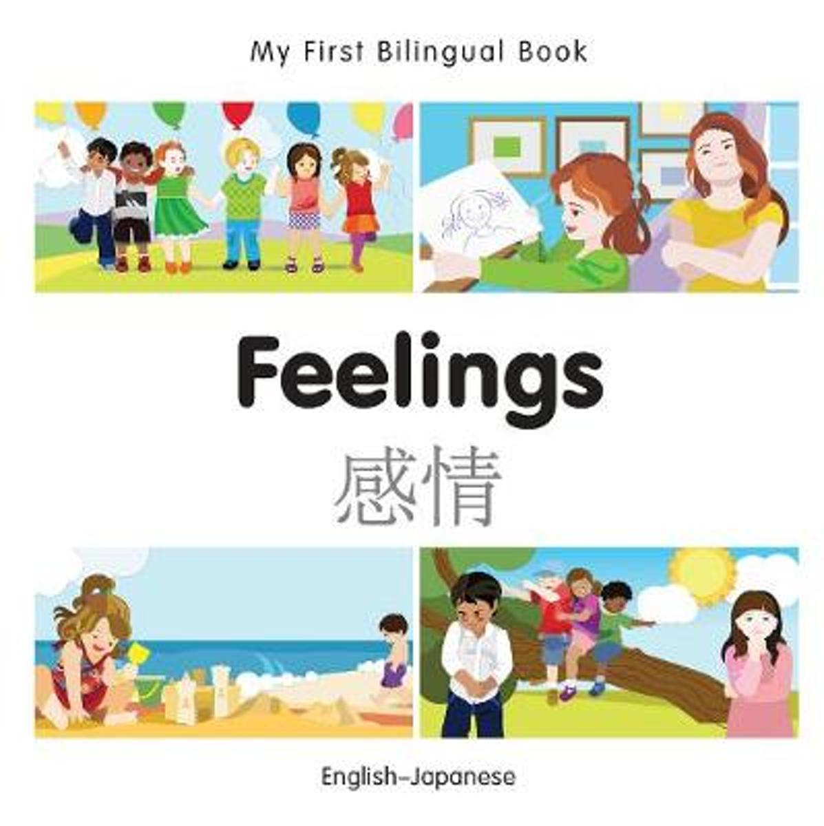 My First Bilingual Book - Feelings - Bengali-english