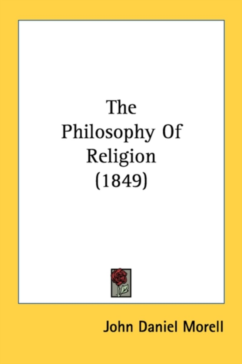 The Philosophy of Religion (1849)