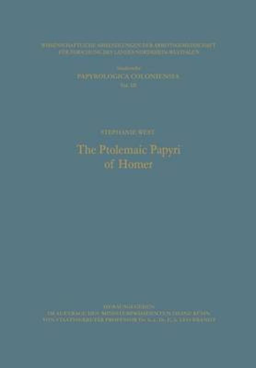 The Ptolemaic Papyri of Homer