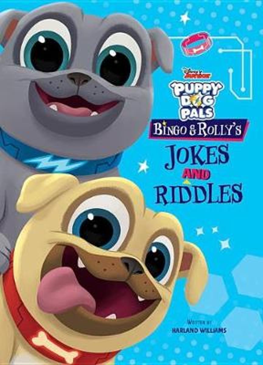 Puppy Dog Pals Bingo and Rolly's Jokes and Riddles