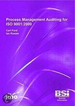 Process Management Auditing For Iso 9001:2000
