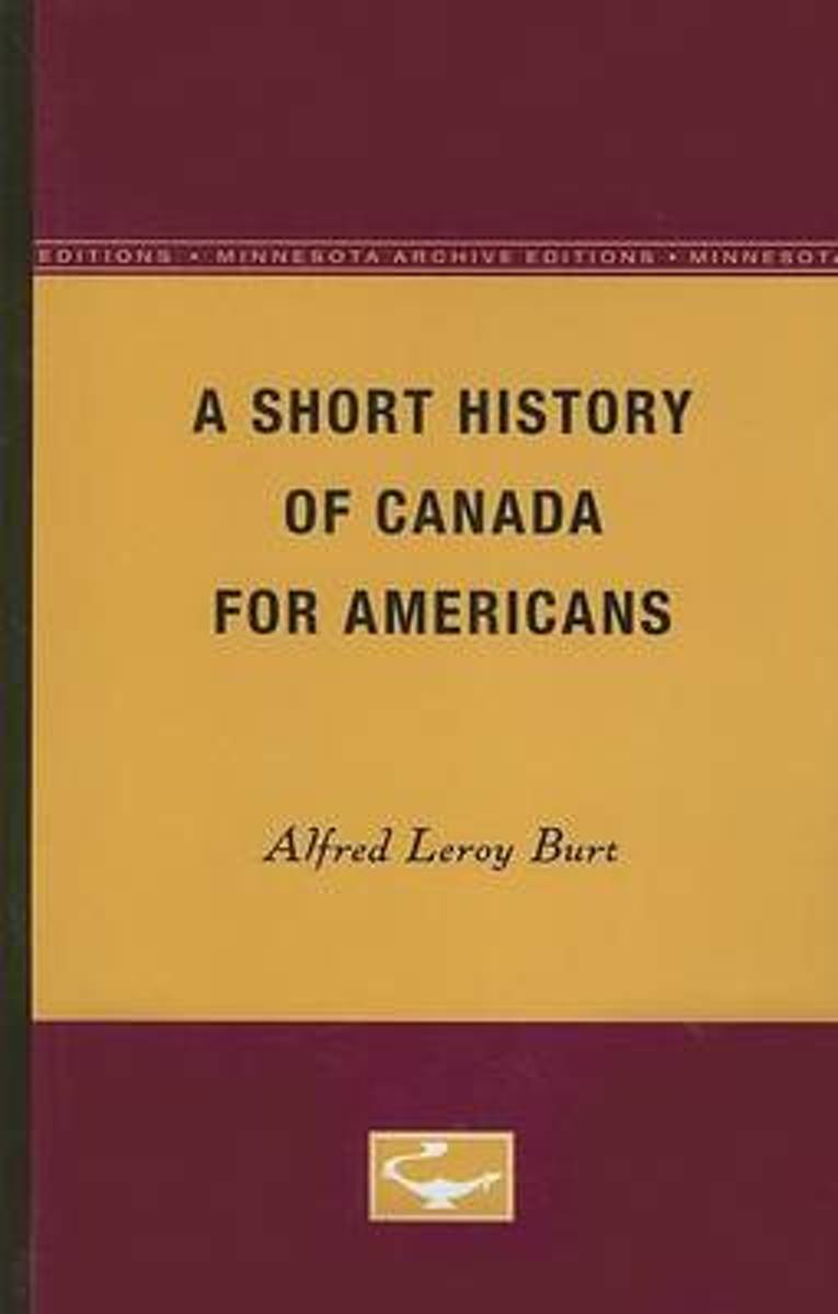 A Short History of Canada for Americans
