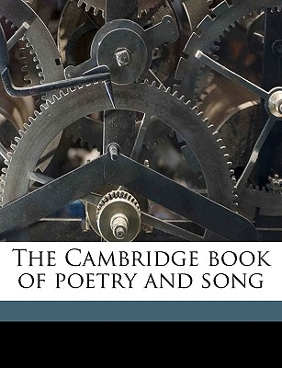 The Cambridge Book of Poetry and Song