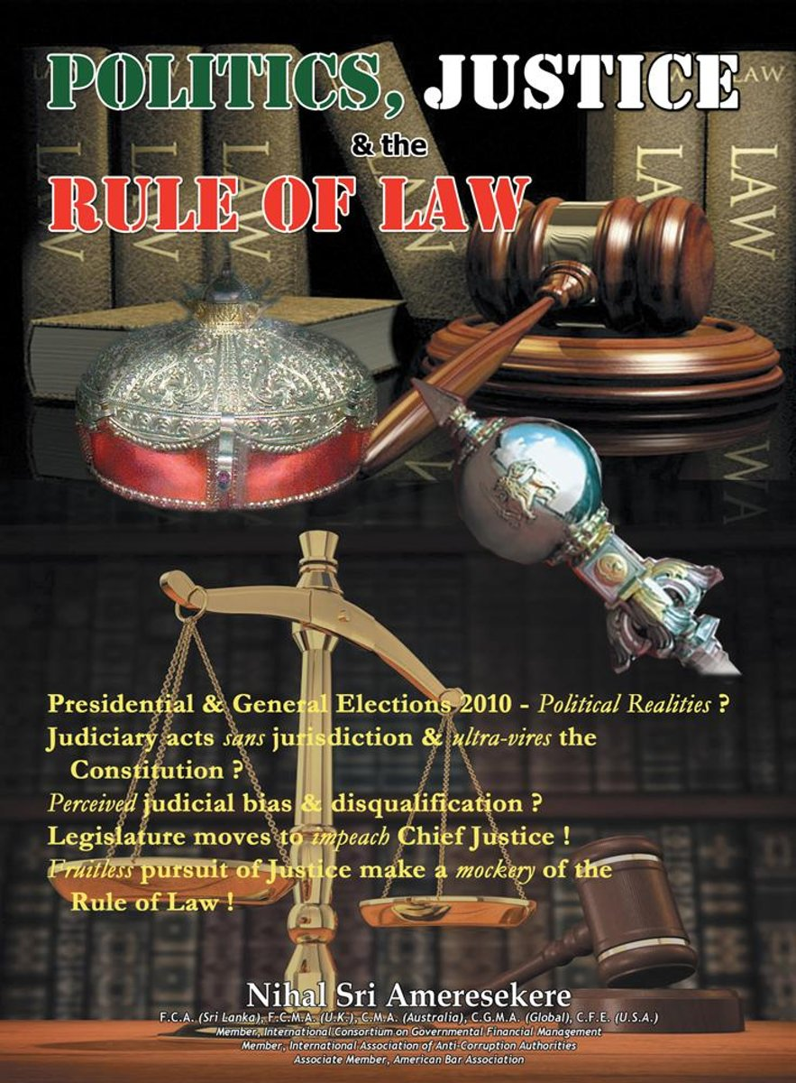 Politics, Justice, and the Rule of Law