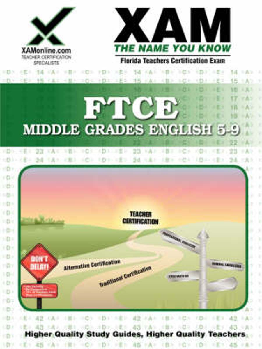 FTCE Middle Grades English 5-9 Teacher Certification Test Prep Study Guide
