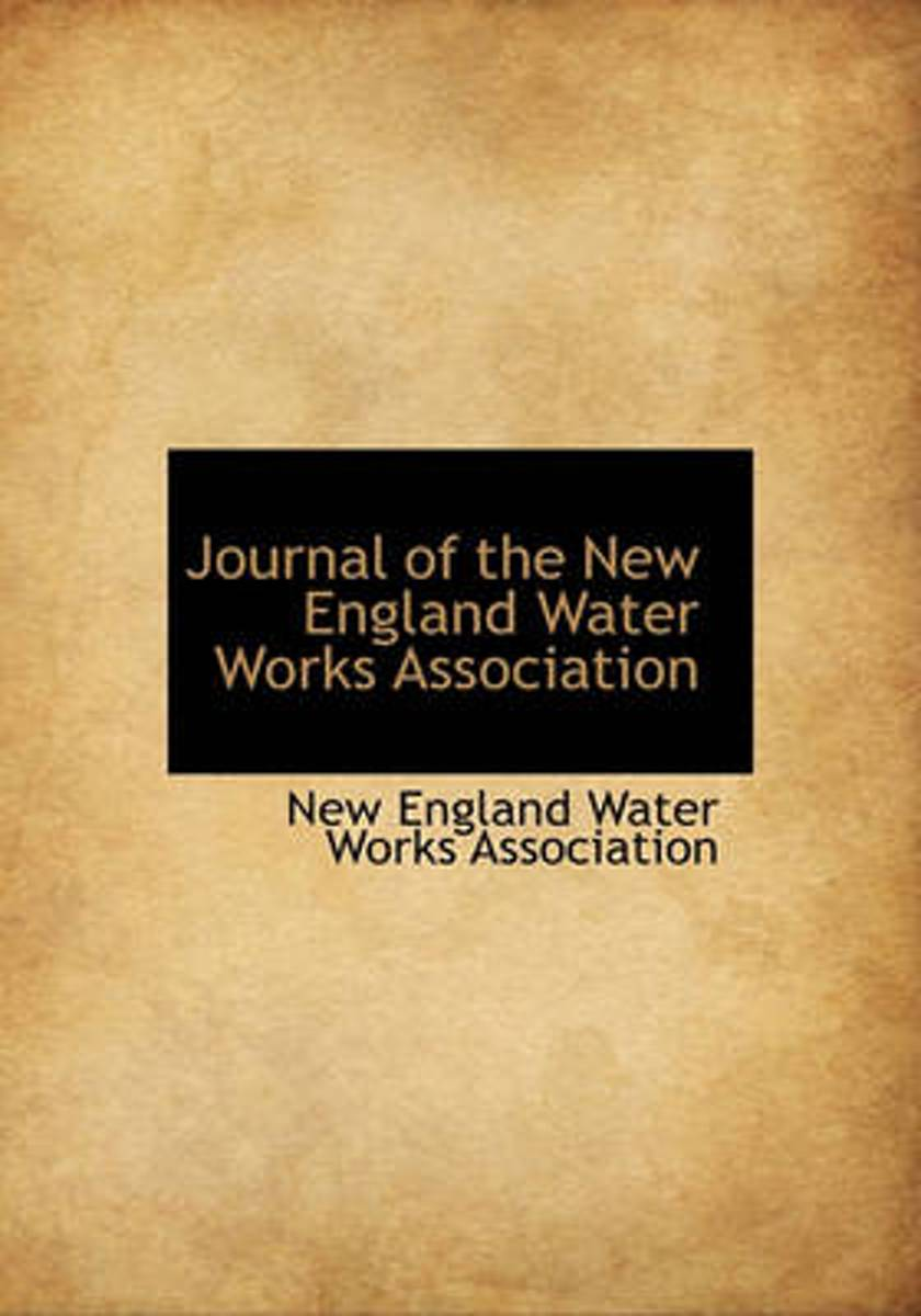 Journal of the New England Water Works Association