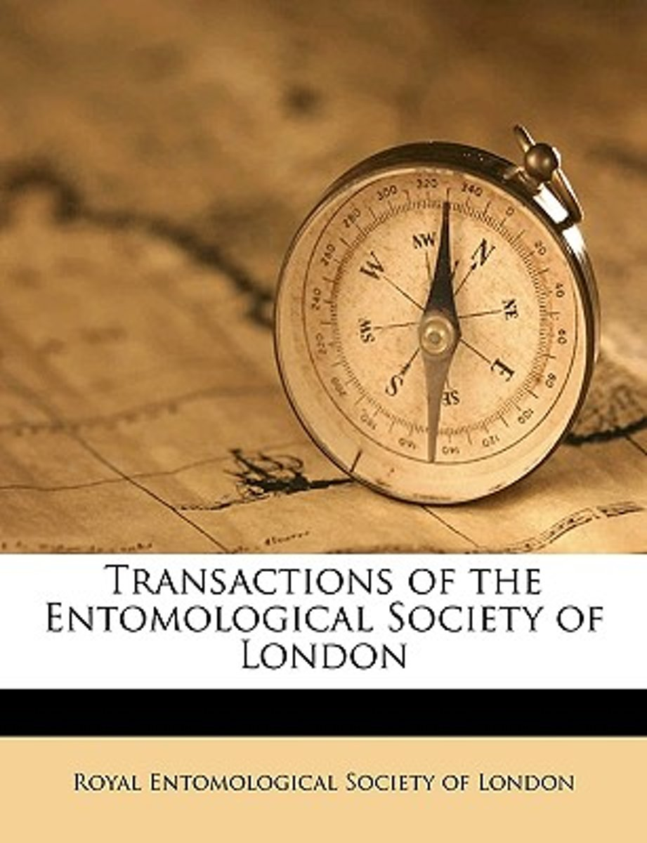 Transactions of the Entomological Society of London Volume 1898