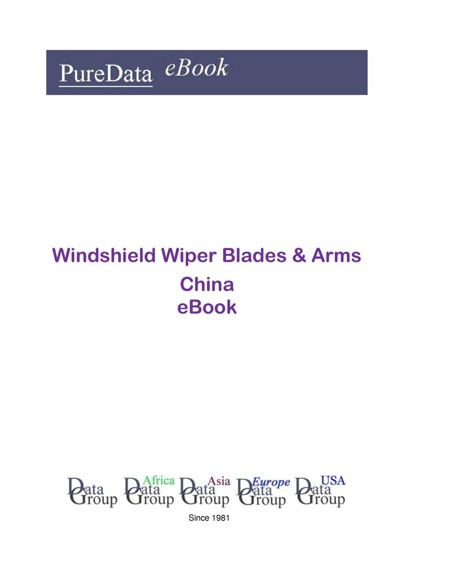Windshield Wiper Blades & Arms in China