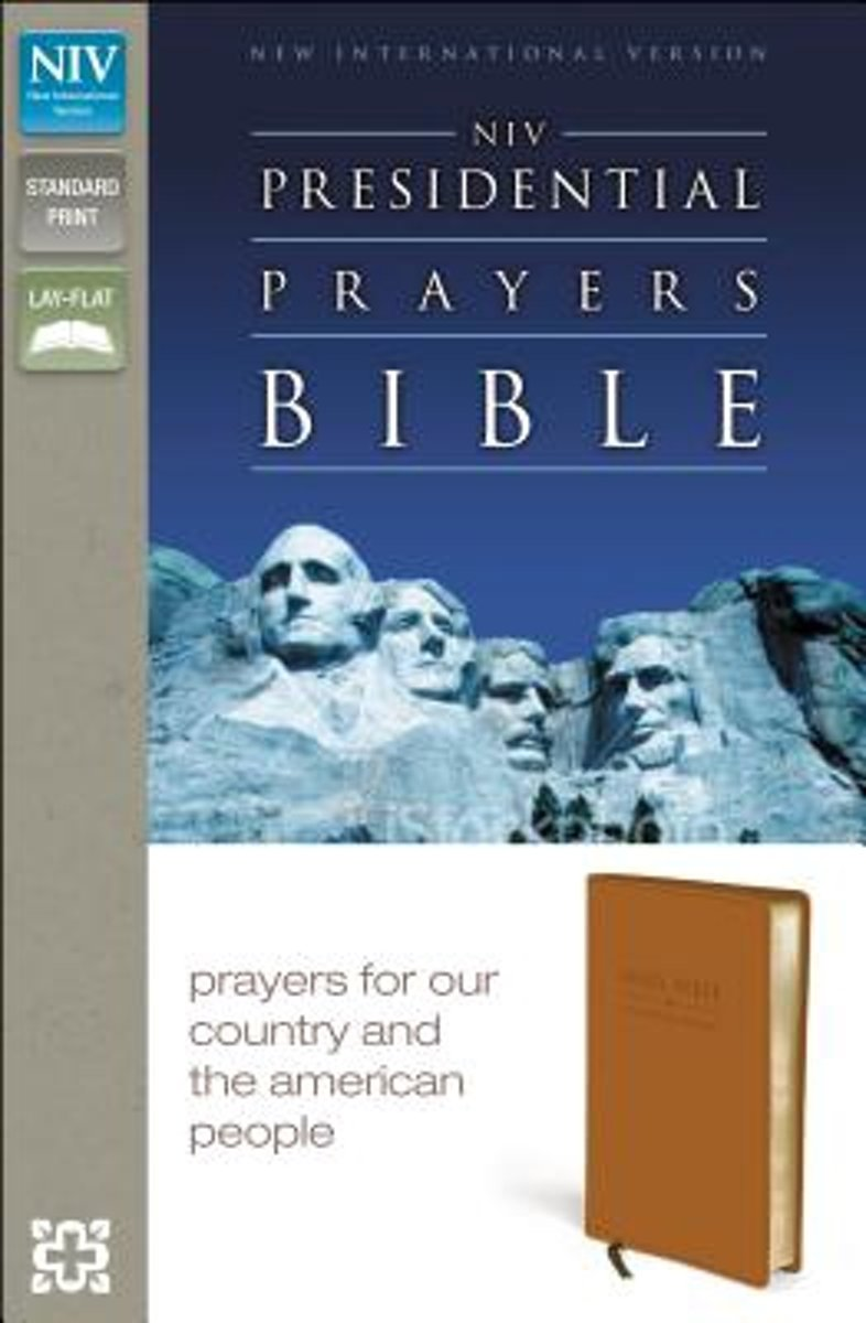 NIV, Presidential Prayers Bible, Leathersoft, Tan