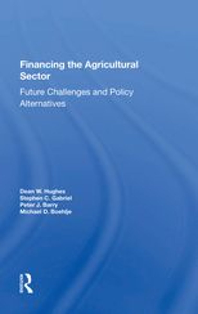 Financing The Agricultural Sector