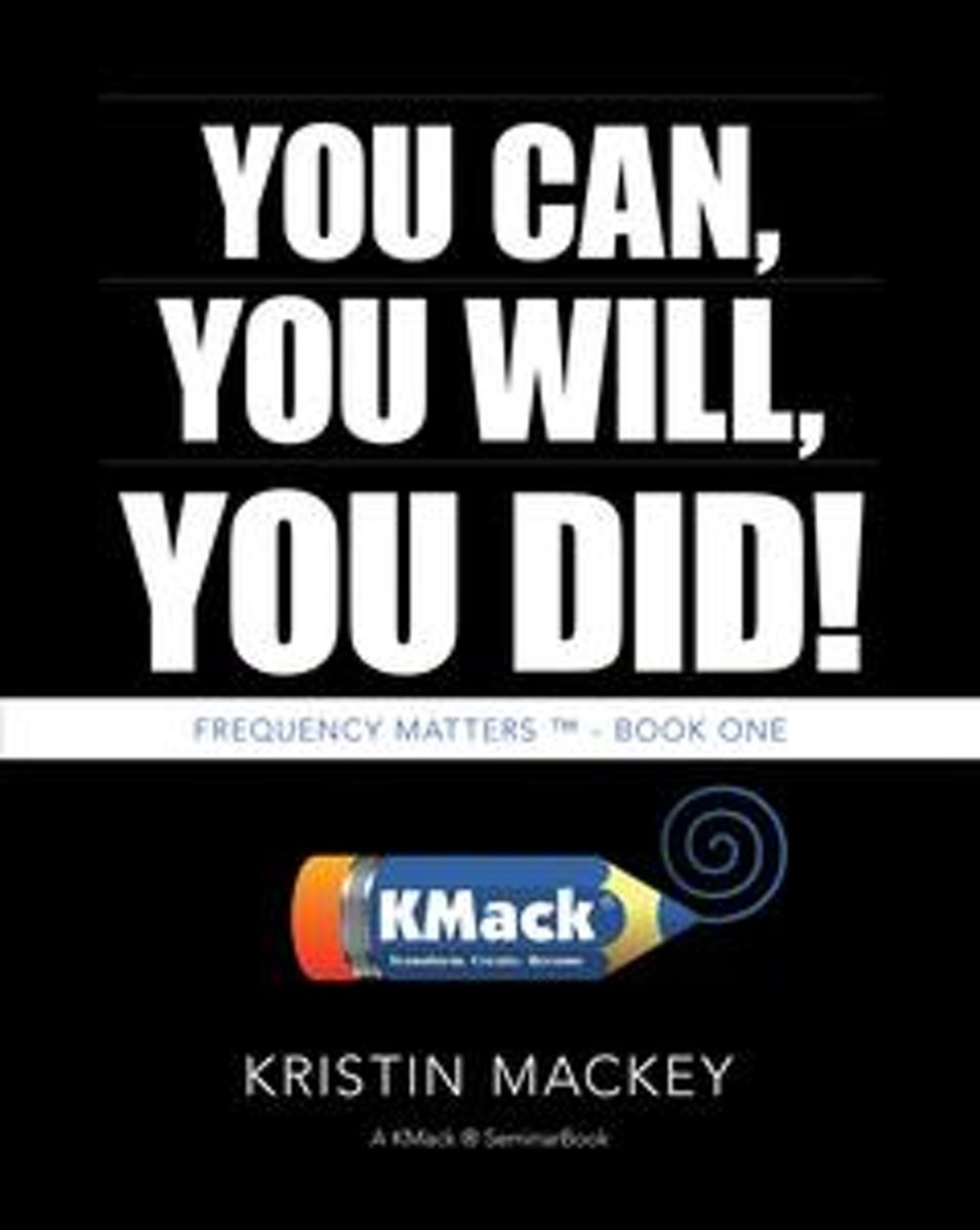 You Can, You Will, You Did!