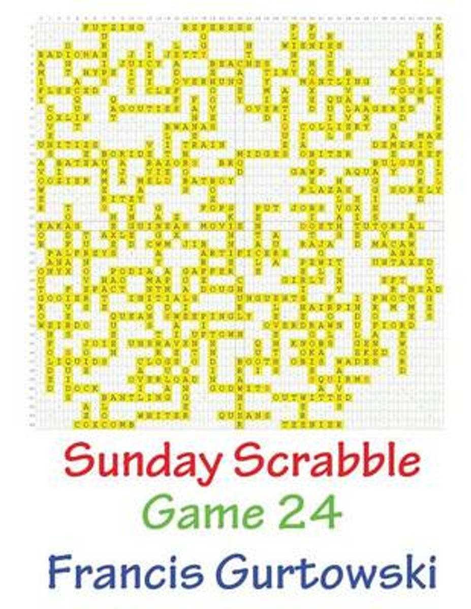 Sunday Scrabble Game 24