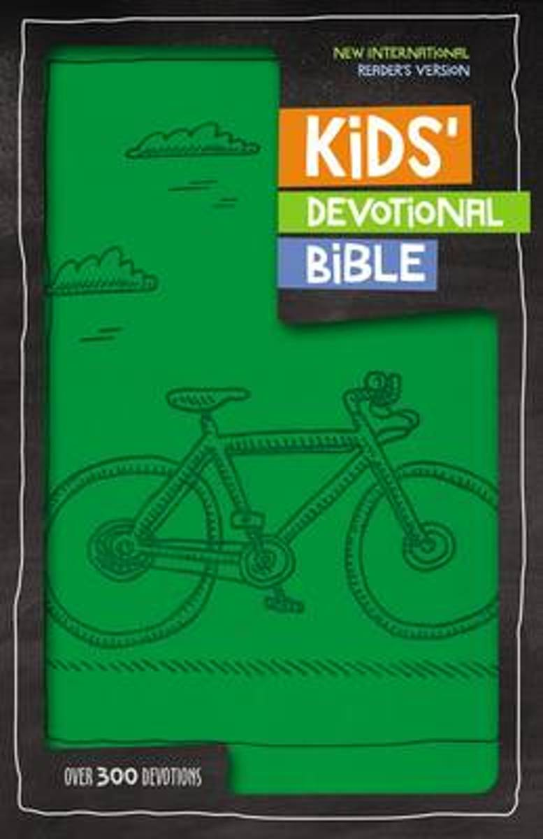 NIrV Kids' Devotional Bible, Leathersoft, Lavender