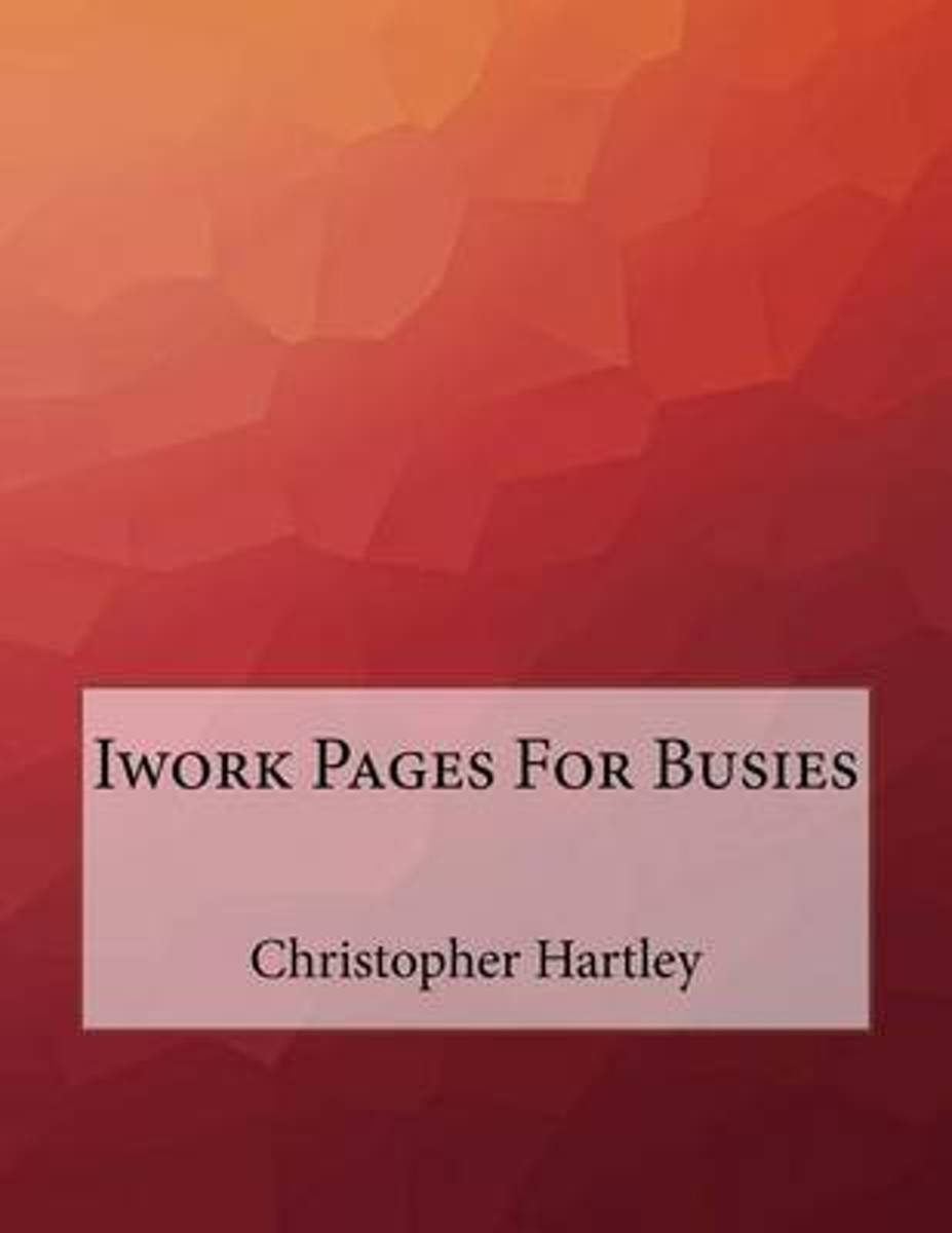 iWork Pages for Busies