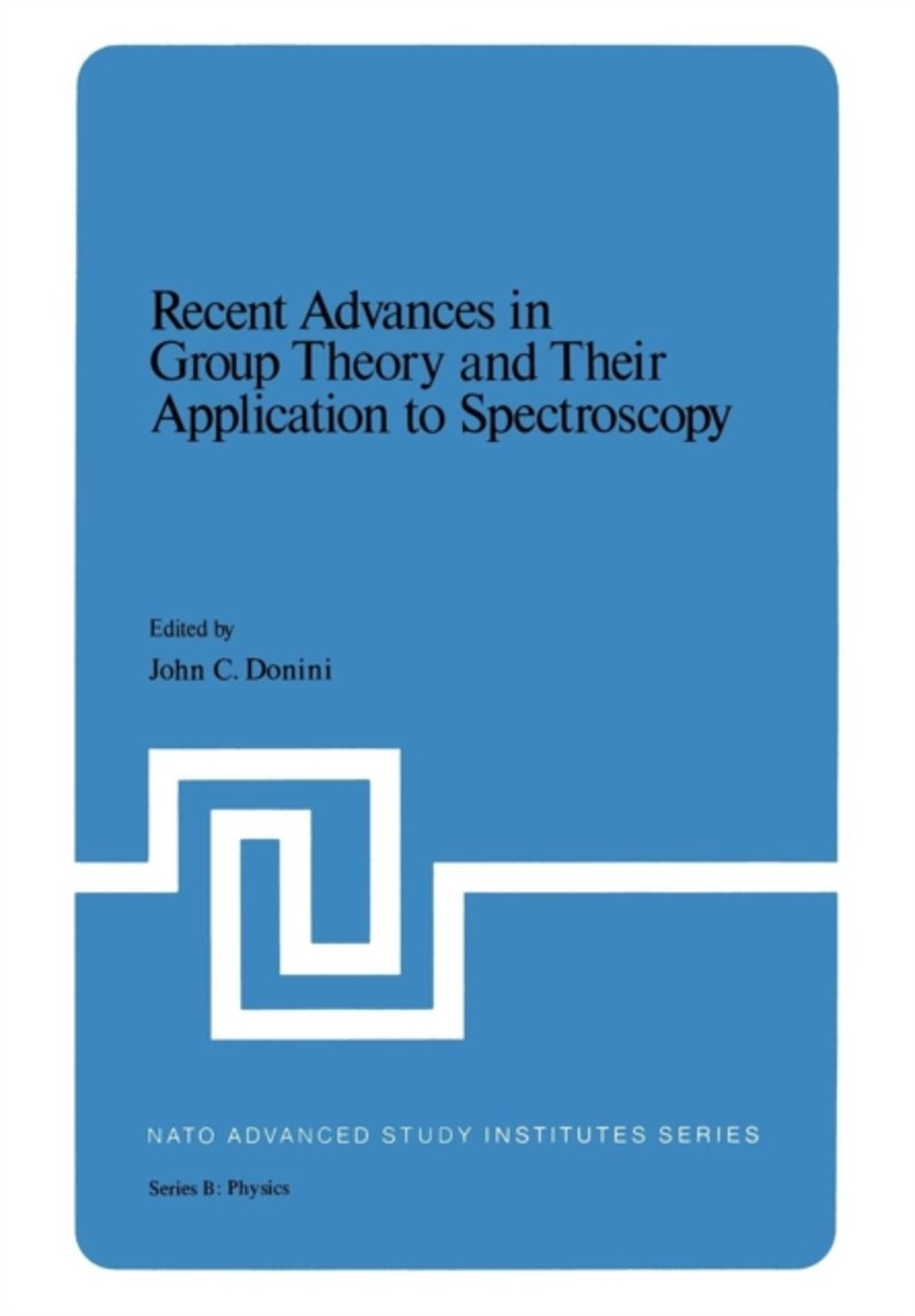 Recent Advances in Group Theory and Their Application to Spectroscopy
