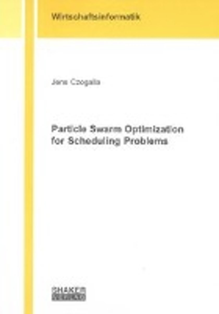 Particle Swarm Optimization for Scheduling Problems