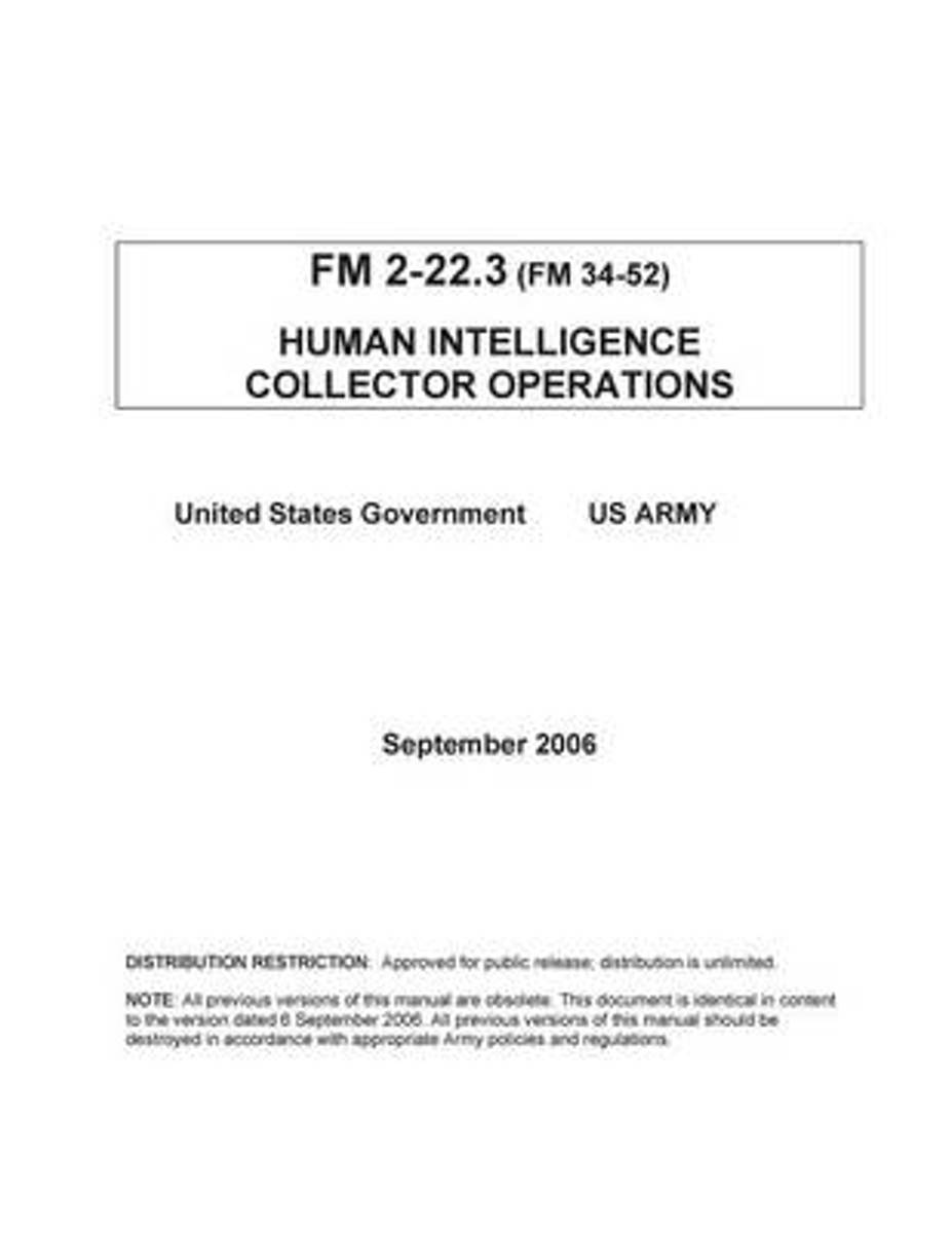 FM 2-22.3 (FM 34-52) Human Intelligence Collector Operations September 2006