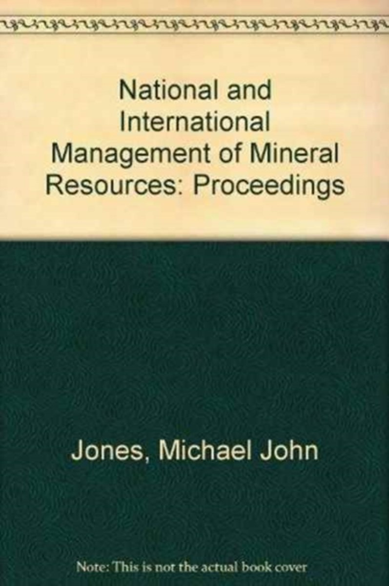 National and International Management of Mineral Resources