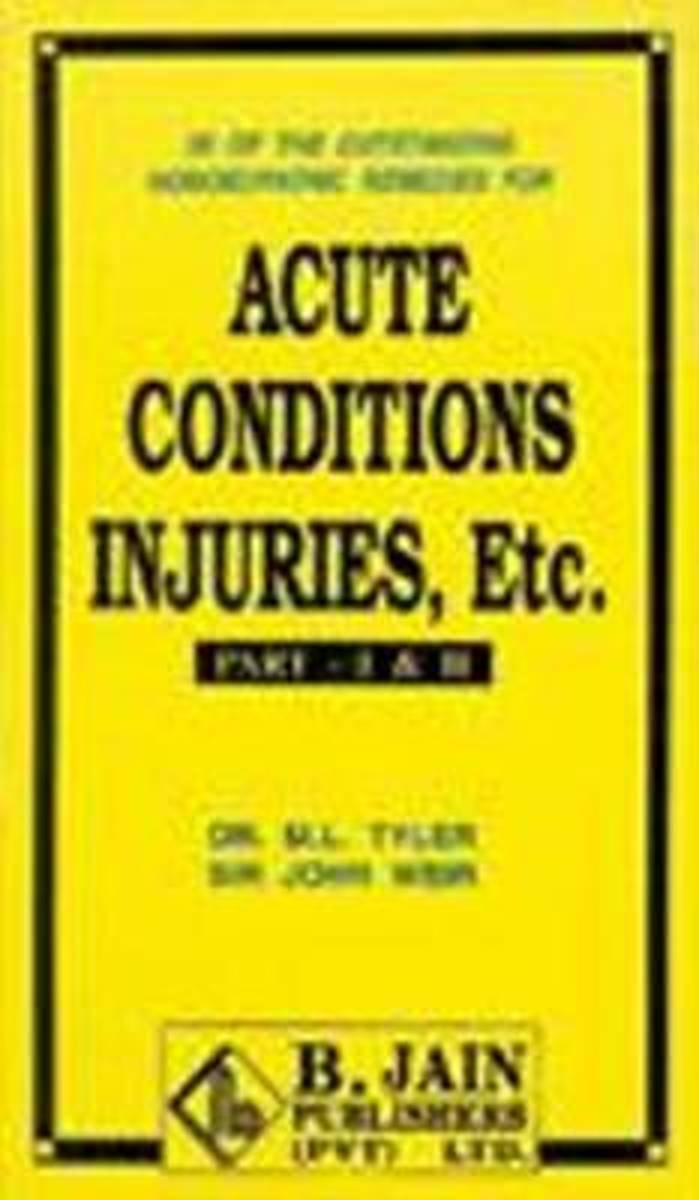Acute Conditions, Injuries, etc