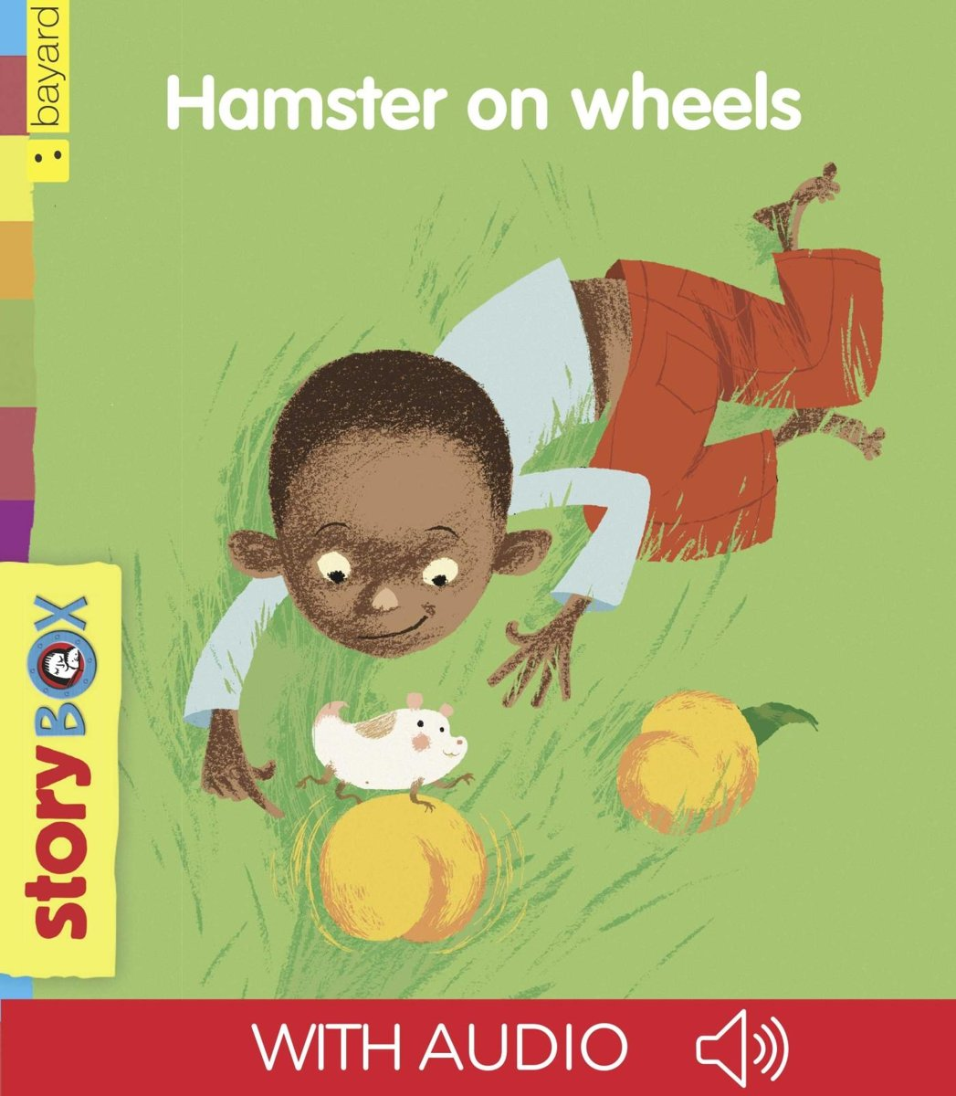 Hamster on wheels