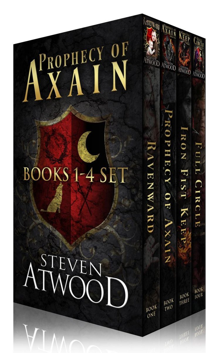 Prophecy of Axain Box Set (Books 1-4)
