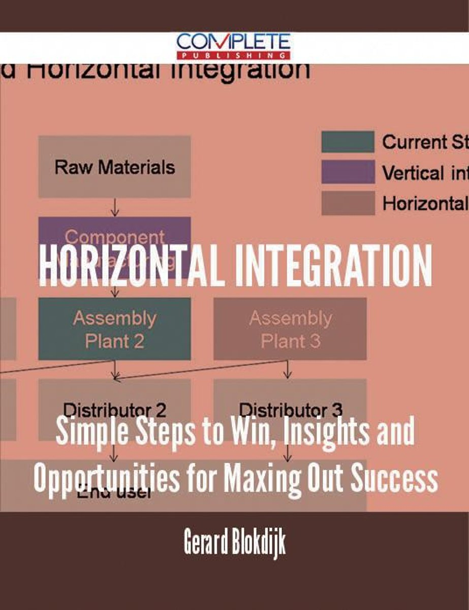 Horizontal Integration - Simple Steps to Win, Insights and Opportunities for Maxing Out Success
