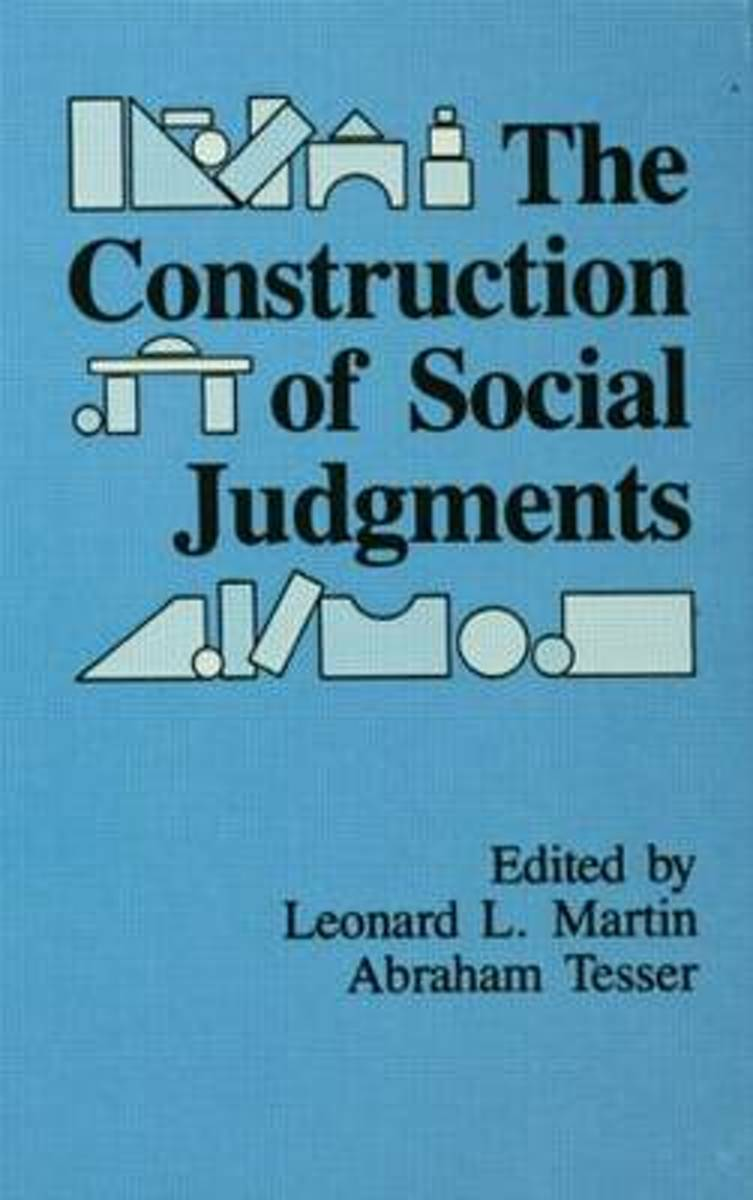 The Construction of Social Judgments