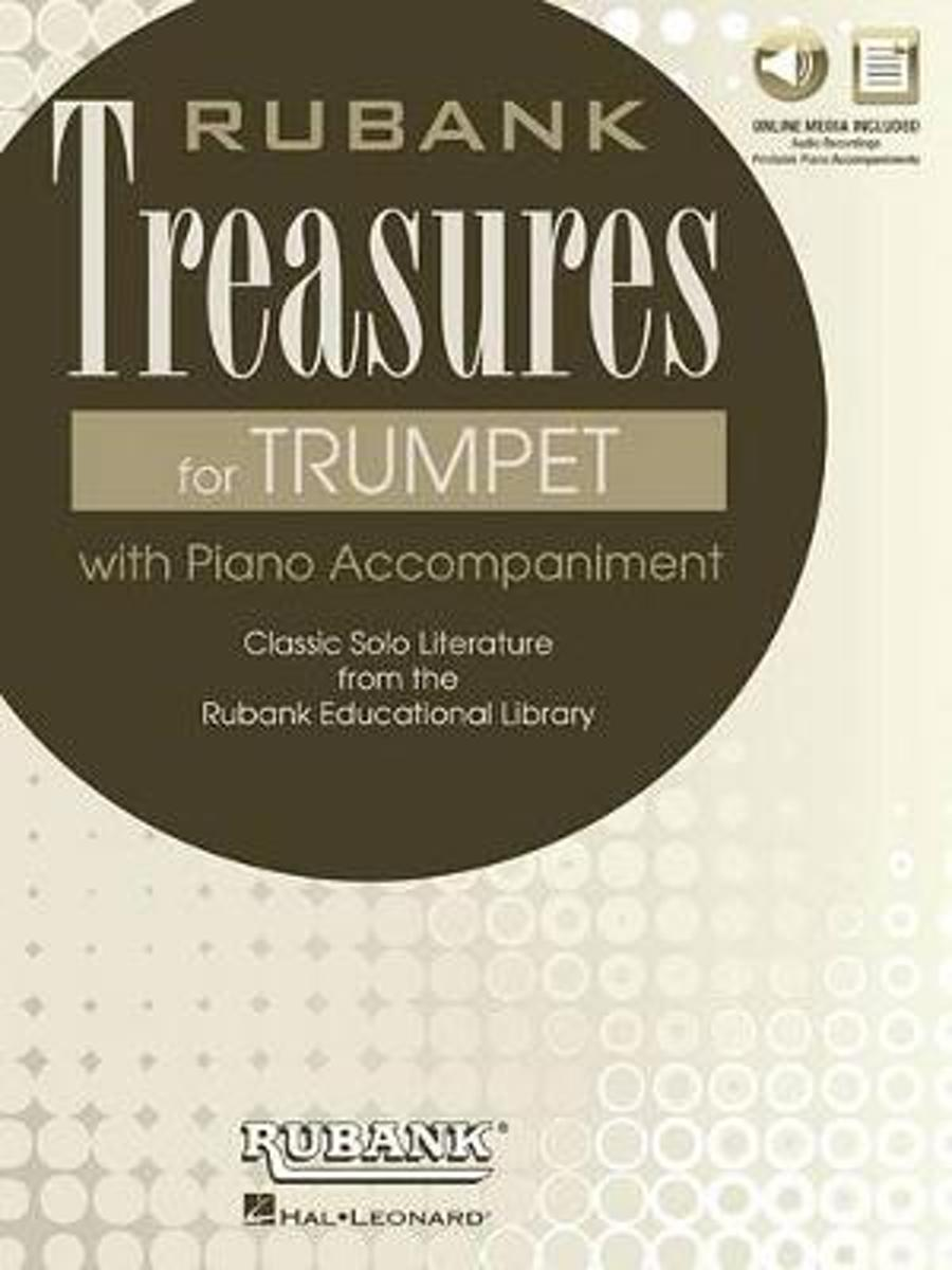 RUBANK TREASURES (VOXMAN) FOR TRUMPET BOOK/MEDIA ONLINE
