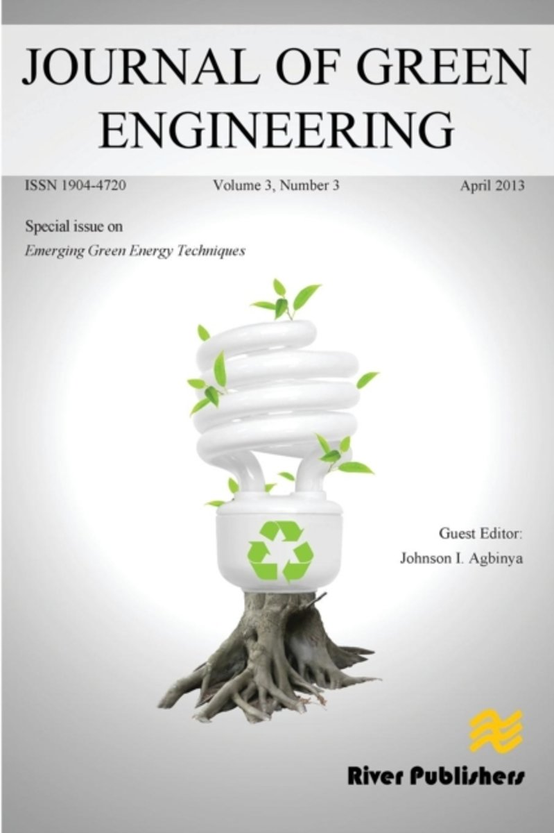 Journal of Green Engineering 3-3