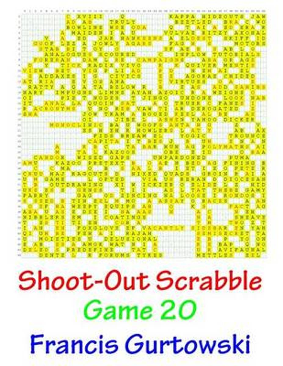Shoot-Out Scrabble Game 20