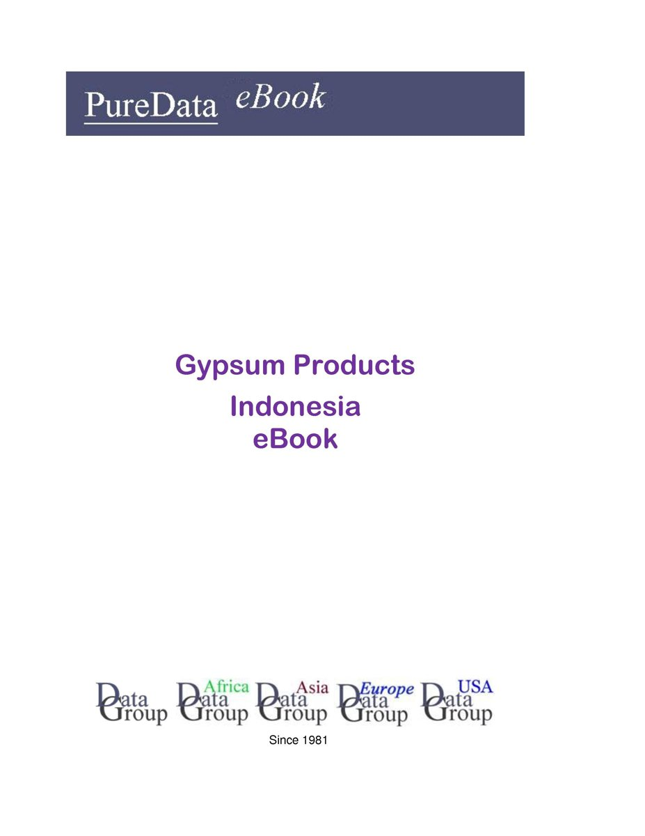 Gypsum Products in Indonesia