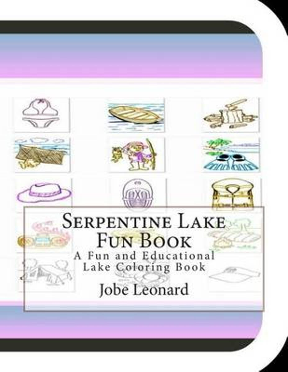 Serpentine Lake Fun Book