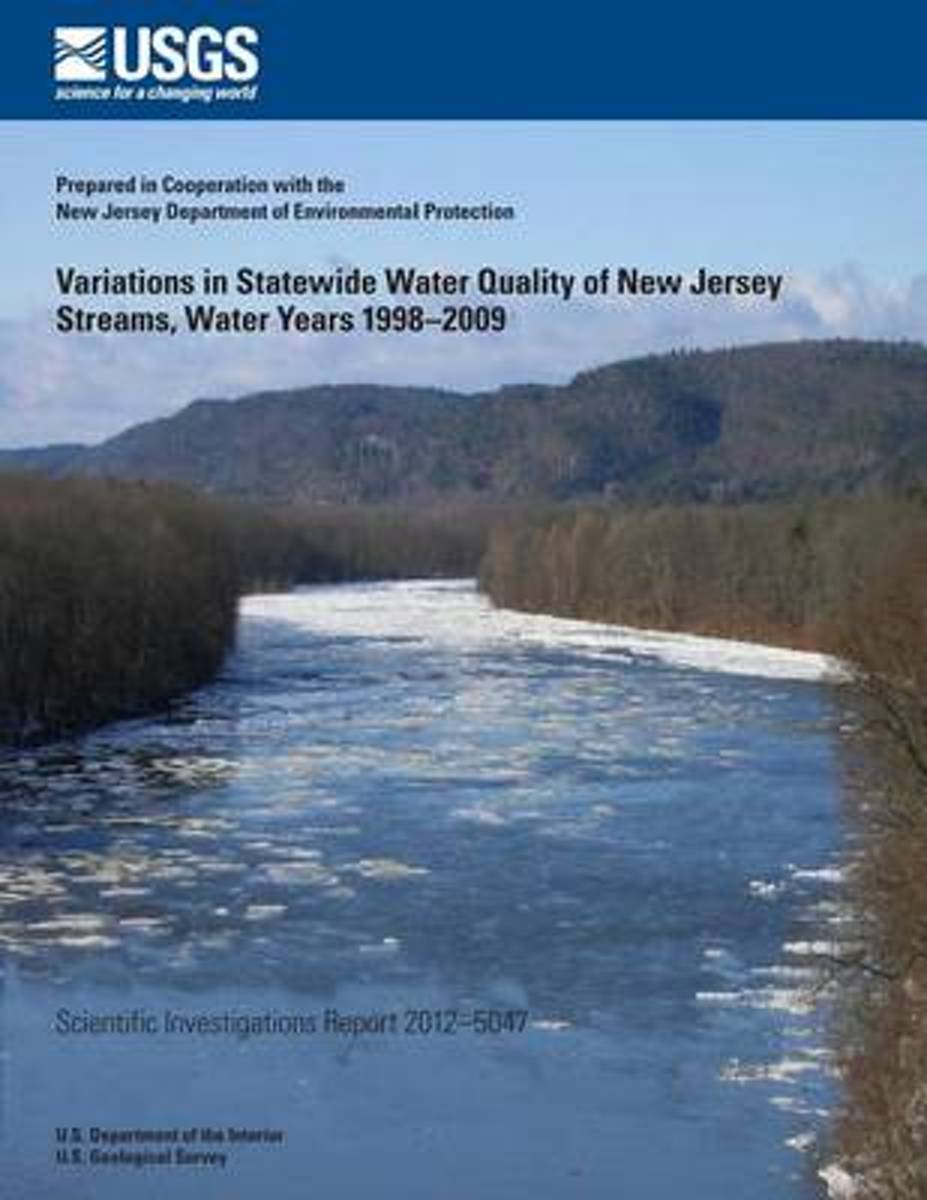 Variations in Statewide Water Quality of New Jersey Streams, Water Years 1998?2009