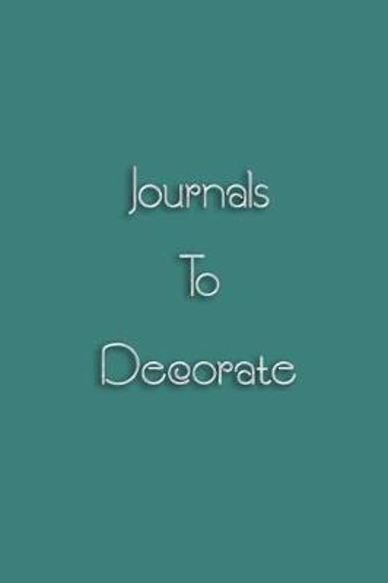 Journals to Decorate